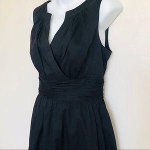 White House Black Market Sleeveless Cotton Dress